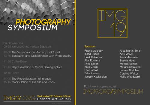 IMG19 Symposium Programme