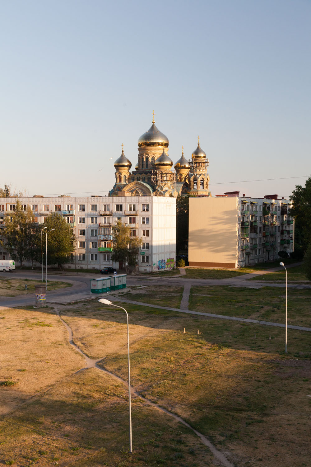A collaborative project in Karosta, Liepaja with Lucas Pernin.